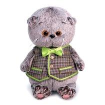 Мягкая игрушка BUDI BASA BB-056 Басик BABY в клетчатом жилете 20см - Буди Баса