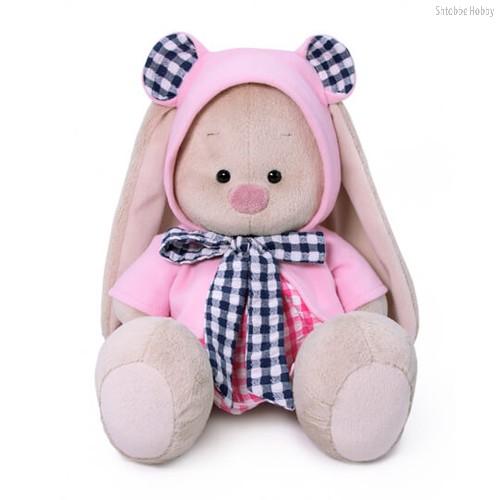 Мягкая игрушка BUDI BASA SidM-383 Зайка Ми в толстовке и платье 23 см - Буди Баса