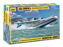 Сборная модель ZVEZDA 7034 Российский самолет-амфибия Бе-200ЧС - Zvezda