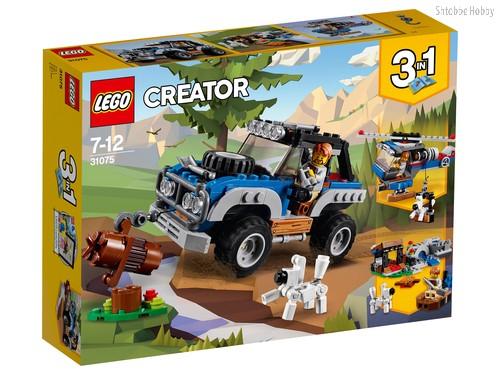 Конструктор LEGO 31075 Creator Приключения в глуши - Lego