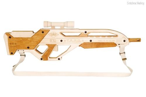 Сборная деревянная модель TARG 0046 INVADER - TARG