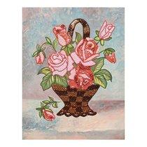 Мозаика из пайеток ВОЛШЕБНАЯ МАСТЕРСКАЯ МХ-16 Букет роз - Волшебная Мастерская