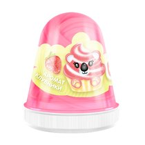 Слайм MONSTER'S SLIME FL011 Fluffy Клубника розовый - Monster's Slime