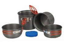 Набор туристической посуды Tramp алюминий TRC-075 - Tramp