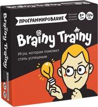 Игра-головоломка BRAINY TRAINY УМ268 Программирование - Банда умников