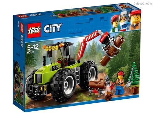 Конструктор LEGO 60181 City Great Vehicles Лесной трактор - Lego