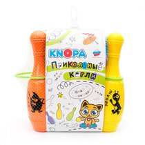 Игровой набор KNOPA 82028 Прикольные кегли Дуэт