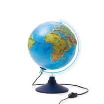 Глобус GLOBEN INT12500286 Физико-политический рельефный с подсветкой 250 - Globen