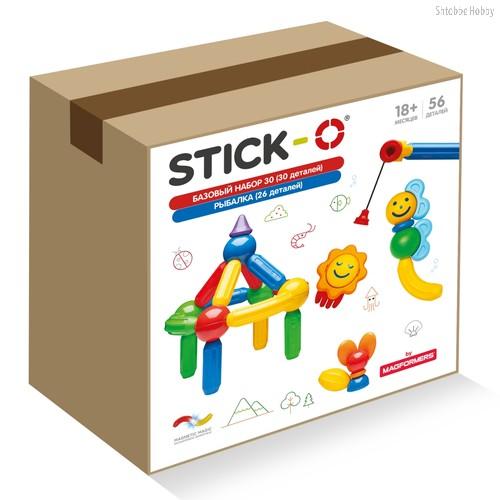 Конструктор STICK-O 901093 Большая рыбалка - Stick-o