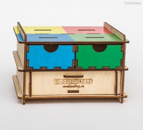 Обучающий набор WOODLANDTOYS 119201 Геометрические фигуры - WOODLAND