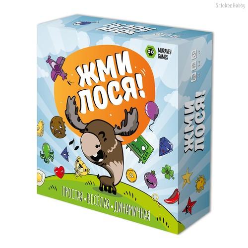 Настольная игра Жми лося! - Muravey Games