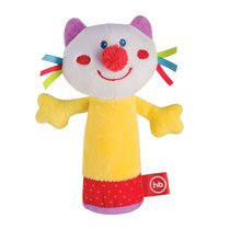 Погремушка HAPPY BABY 330358 CHEEPY KITTY - Happy Baby