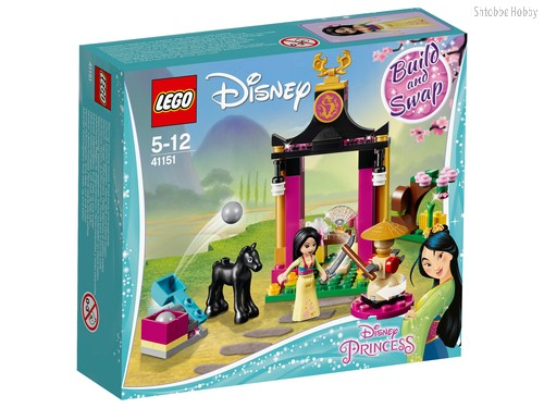 Конструктор LEGO 41151 Disney Princess Учебный день Мулан - Lego