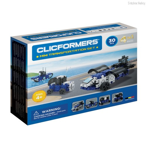 Конструктор Transportation set mini 30 деталей - Clicformers