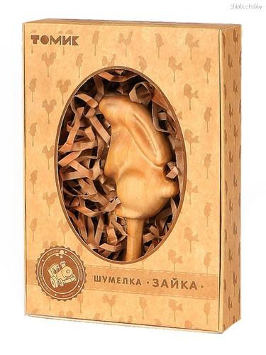 Погремушка ТОМИК 705-1 Шумелка Зайка - Томик