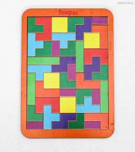 Логическая игра WOODLANDTOYS 065101 Тетрис большой - WOODLAND