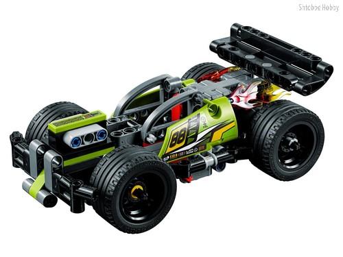 Конструктор Technic Зеленый гоночный автомобиль - Lego