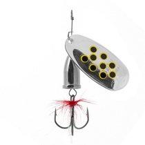 Блесна Premier Fishing Gidra Bug Black №5, 15г. NI с мухой PR-SPRH12B-5NI-B, 15 г - Тонар