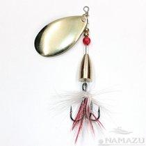 Блесна Namazu Unwin 15г, цвет 02 (латунь), N-U15-02, 15 г - Namazu
