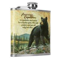 Фляжка Helios Медведь 210 мл А03-1 - Тонар