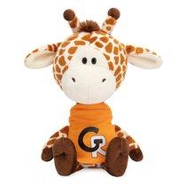 Мягкая игрушка BUDI BASA SA15-20 Жирафик Жан в оранжевой футболке - Буди Баса