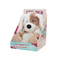 Игрушка грелка WARMIES CP-PUP-2 Cozy Plush Песик - Warmies