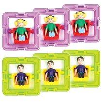 Набор MAGFORMERS 60203 3 мальчика и 3 девочки - Magformers