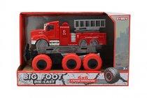 Машина пластиковая FUNKY TOYS FT61093 пожарная с подъемным механизмом с краш-эффектом, кабина die-cast, 6*6 - Funky Toys