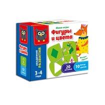Развивающая игра VLADI TOYS VT5111-04 Формы и цвета - Vladi Toys