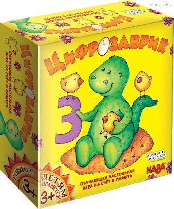 Настольная игра Цифрозаврик - Hobby World