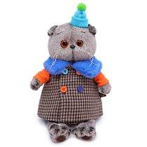 Мягкая игрушка BUDI BASA Ks22-120 Басик в комбинированном пальто 22см - Буди Баса