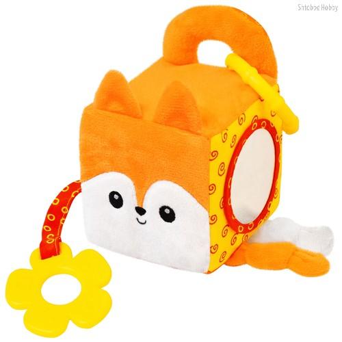 Игрушка МЯКИШИ 633 кубик лисичка Апельсинка - Мякиши
