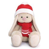 Мягкая игрушка BUDI BASA SidL-347 Зайка Ми Большой в шапке и шарфе 34см - Буди Баса