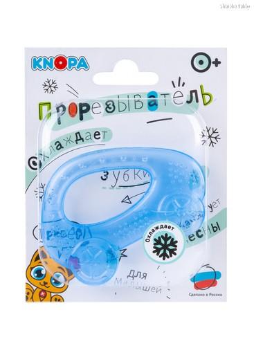 Прорезыватель KNOPA 80032 Машинка, синяя - Knopa