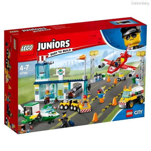 Конструктор Juniors Городской аэропорт - Lego
