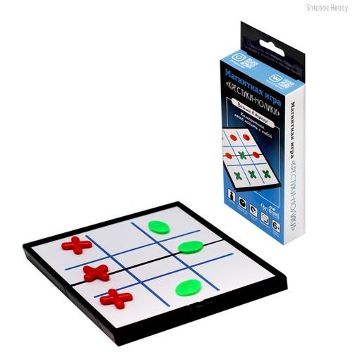 Настольная игра ORIGAMI 5321 Крестики-нолики (магнитная) - Origami