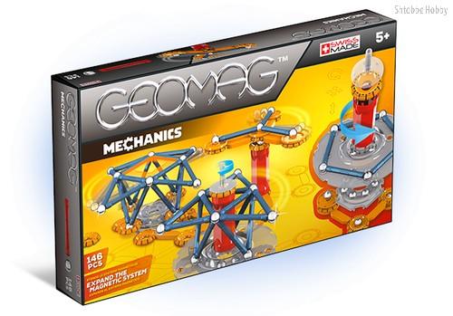 Магнитный конструктор GEOMAG 722 Mechanics 146 деталей - Geomag