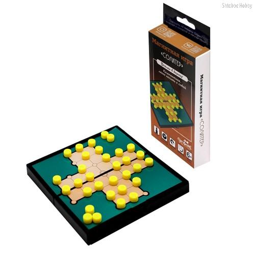 Настольная игра ORIGAMI 5323 Солитер (магнитная) - Origami