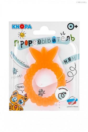 Прорезыватель KNOPA C13 Ягодка, оранжевая - Knopa