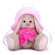 Мягкая игрушка BUDI BASA SidX-326 Зайка Ми в шапке с помпоном и шарфе - Буди Баса