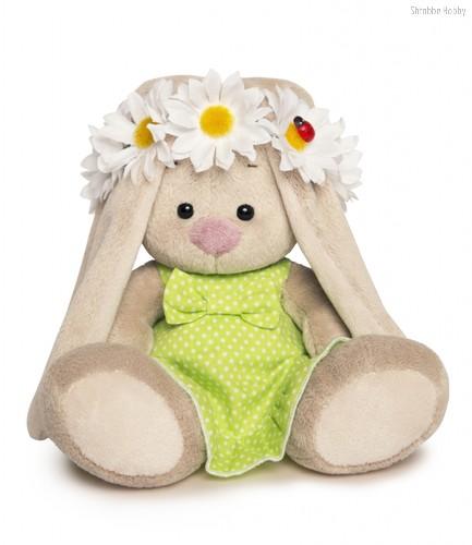 Мягкая игрушка Зайка Ми в венке из ромашек - Буди Баса
