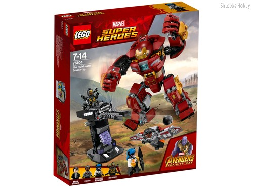 Конструктор Super Heroes Бой Халкбастера - Lego