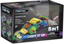 Светодиодный конструктор Спорткар 8 в 1 - Laser Pegs