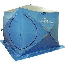 Зимняя палатка куб Woodland Ice Fish Double двухслойная - Woodland