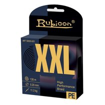 Леска плетеная Rubicon XXL 0,12мм 135м Yellow 450135YL-012 - Rubicon