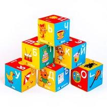 Кубики МЯКИШИ 472 Три Кота алфавит - Мякиши