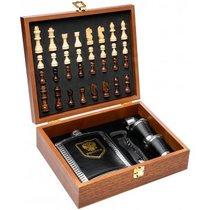 Подарочный набор с шахматами в чемодане Helios GT-TZ200 - Тонар