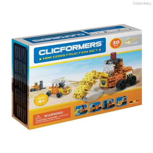 Конструктор Construction set mini 30 деталей - Clicformers