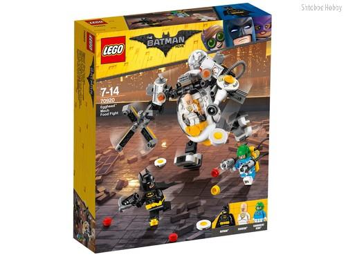 Конструктор LEGO 70920 Batman Movie Бой с роботом Яйцеголового - Lego