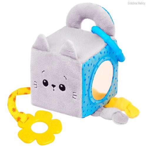 Игрушка МЯКИШИ 629 кубик котёнок Кекс - Мякиши